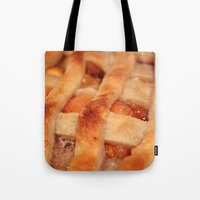 dessert Tote Bags featuring Dessert by silverstreaked