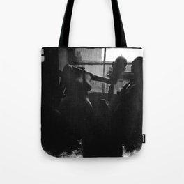 As the City Awakens Tote Bag