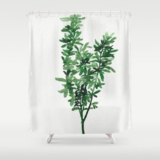 Plant 2 Shower Curtain