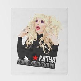Katya Zamo, RuPaul's Drag Race Queen Throw Blanket