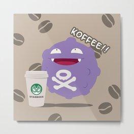 Koffee! Metal Print