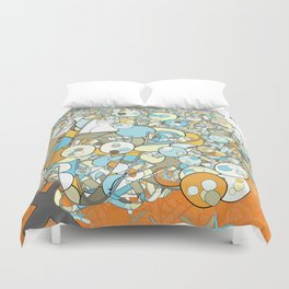 Nested Composition 3 Duvet Cover