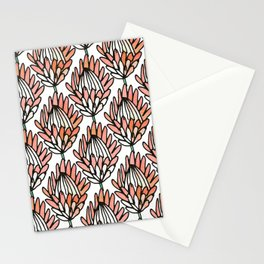 Protea Orange #homedecor Stationery Cards