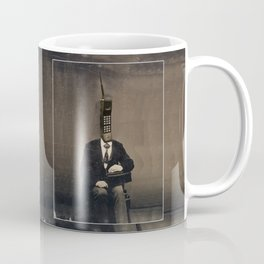 Faces of the Past: Cellular Coffee Mug