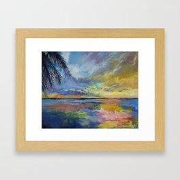 Islamorada Sunset Framed Art Print