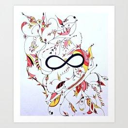Infinity Garden Art Print