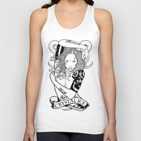 "tatoo Tank Tops featuring Tatoo Ink ""Black Lotus"" by CRYSTAL_ICE"