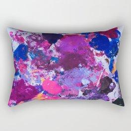 Paint Palette Rectangular Pillow