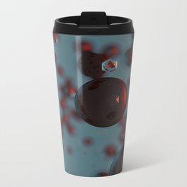 Particles Metal Travel Mug