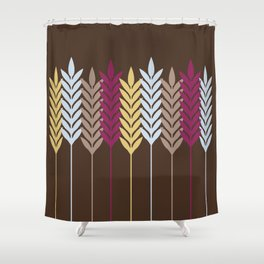Harvest Wheat 4 Shower Curtain