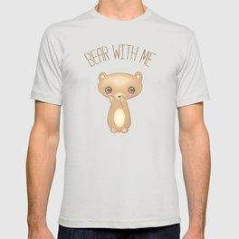 Bear With Me - Creepy Cute Teddy T-shirt