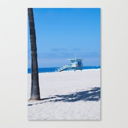 Lifeguard Tower I Canvas Print