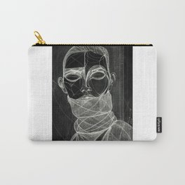 Alisa Ahmann by Txema Yeste (B) - Artist: Leon 47 ( Leon XLVII ) Carry-All Pouch
