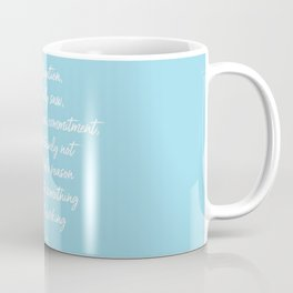 Obligation Coffee Mug