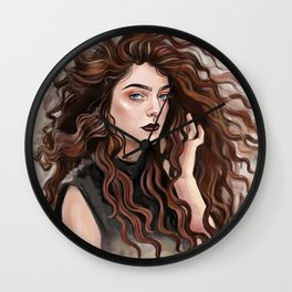 Pure Heroine vibes / Lorde Wall Clock