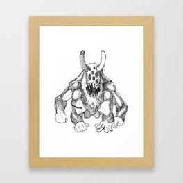 THE BULL Framed Art Print