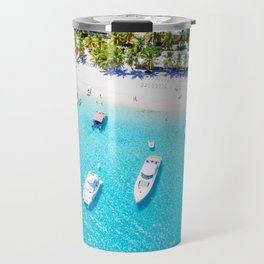 Boats IN the Tropics Travel Mug