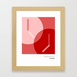 Cleo from 5 to 7 Framed Art Print