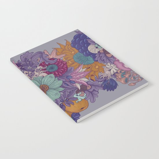 the wild side - colored Notebook