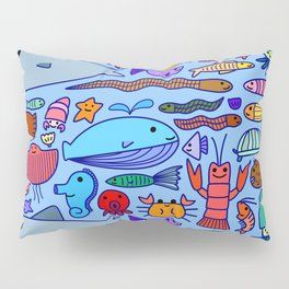 Colours Under the Sea Pillow Sham
