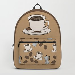 I love Coffee Backpack