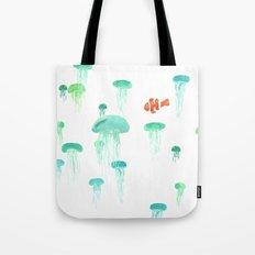 Sea of Jellies Tote Bag