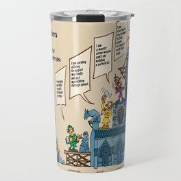 The Allegory of the Six Stone-Workers Travel Mug