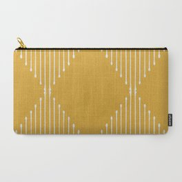 Geo / Yellow Carry-All Pouch