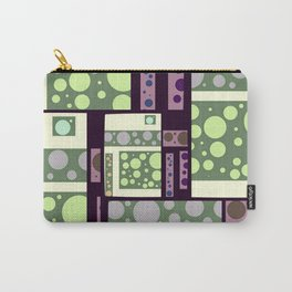 Retro Bubbles Carry-All Pouch