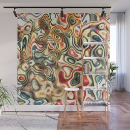 Abstract background pattern art Wall Mural