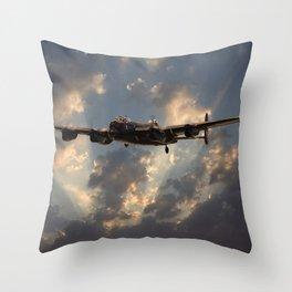 Lancaster- Into the Night Throw Pillow