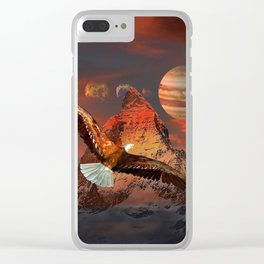 Mountain Life by GEN Z Clear iPhone Case