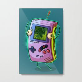 Game Over, Man! Game Over! Metal Print