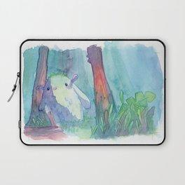 Little monster watercolor Laptop Sleeve
