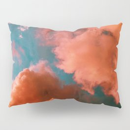 The Pink Clouds (Color) Pillow Sham