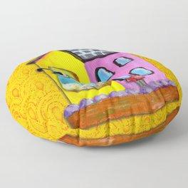 Quail Floor Pillow