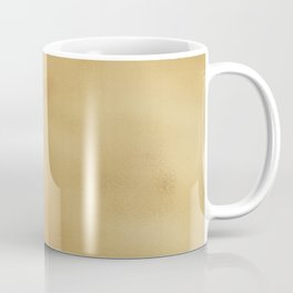 Modern elegant abstract faux gold gradient Coffee Mug