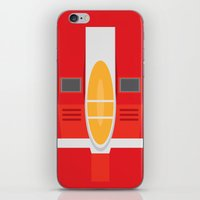 transformers iPhone & iPod Skins featuring Starscream Transformers Minimalist by Jamesy