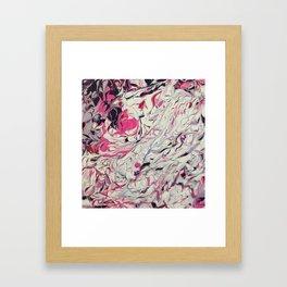 Candy Melt Framed Art Print