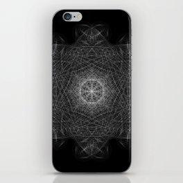 Cosmic Cymatics Mandala iPhone Skin