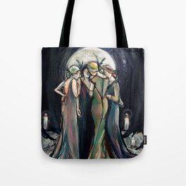 Moonlight Gathering Tote Bag