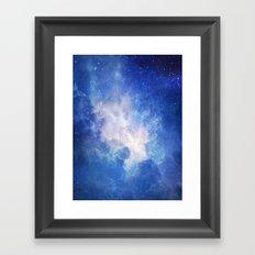 The Universe Calling Framed Art Print