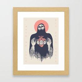 No Goals Framed Art Print