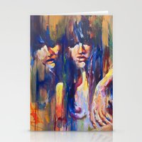 sisters Stationery Cards featuring Sisters by Jose Rivas