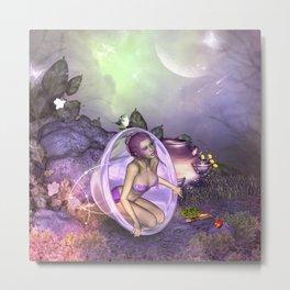 Beautiful fairy Metal Print