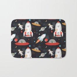 Spaceships Bath Mat