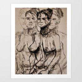 Seeing in Quattttro Art Print