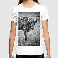 buffalo T-shirts featuring Buffalo by davehare