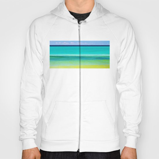 the colors of the sea Hoody