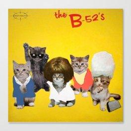 B-Kitty Kitty Canvas Print